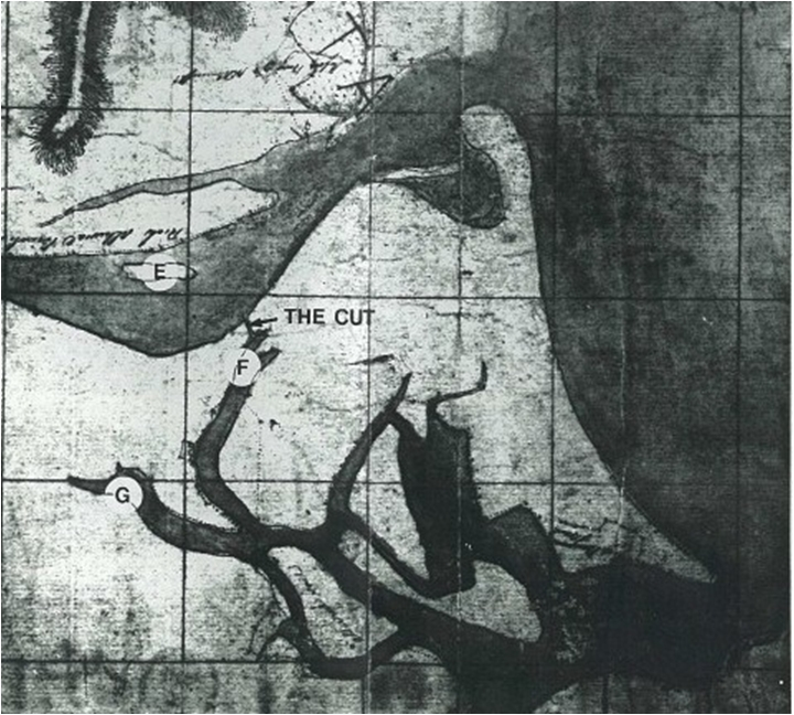 1822 Survey Plan Lower Shoalhaven River Estuary