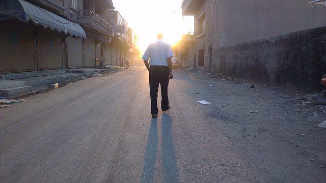 Walking by Beshr Abdulhadi