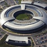 Adapted from GCHQ Building at Cheltenham, Gloucestershire by Defence Images