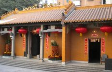 Temple, Shixia village, Shenzhen