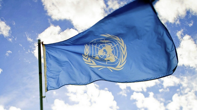 Adapted from united nations flag by sanjitbakshi