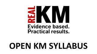 RealKM Open KM Syllabus