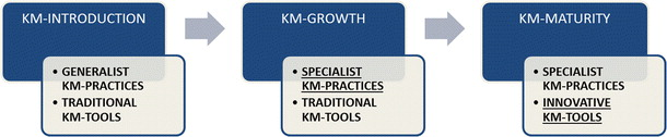 Process of adoption of KMSs by SMEs