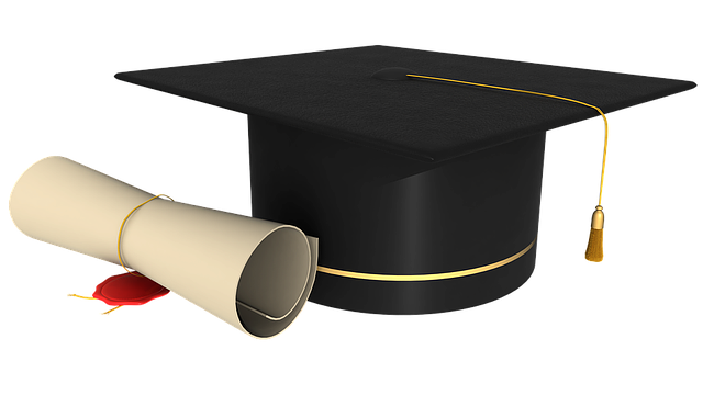 Diploma Graduation Contract Rolled Up Seal Stamp [Pixabay image 1390785]