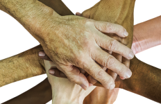 Hands Teamwork Team-spirit Cheer Up Team People [Pixabay image 1939895]