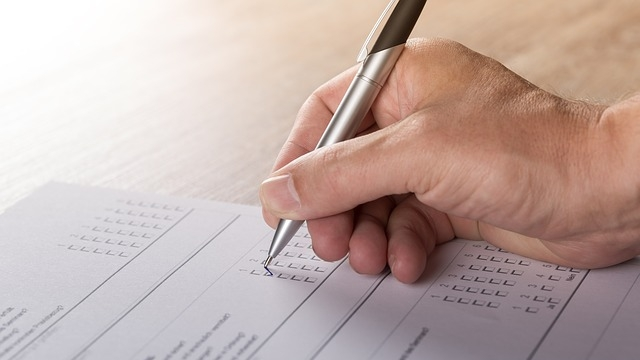 Survey Opinion Research Voting Fill Vote Hand [Pixabay image 1594962]