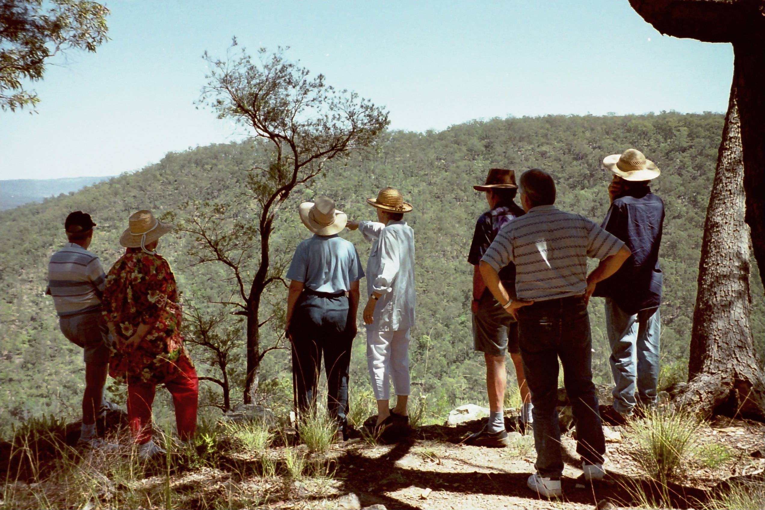 Knowledge sharing in the Helidon Hills