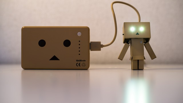 Recharging Danbo Power by Takashi Hososhima