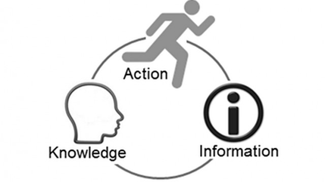 Action-Knowledge-Information (AKI) model