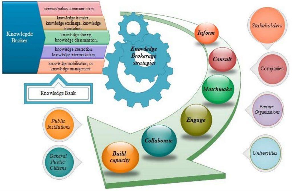 Knowledge Broker Intervention Model