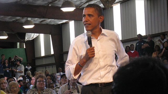 Obama in Terre Haute by BeckyF