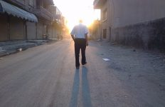 Walking by Beshr Abdulhadi