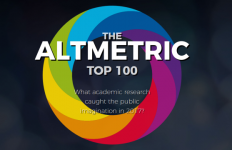 Altmetric top 100 research articles 2017