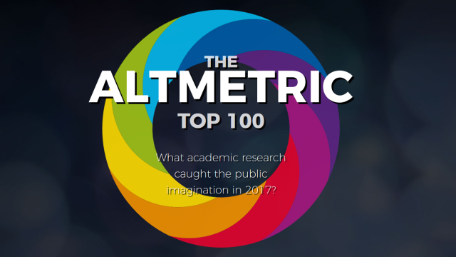 Altmetric top 100 research articles 2017