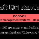 ISO 30401 draft