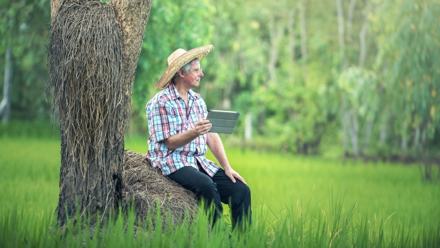 Farmers are embracing technology