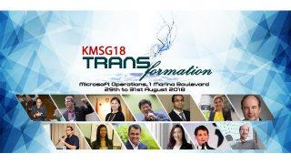 KMSG18 speakers (see below for details)