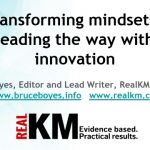 Transforming mindsets - leading the way with innovation