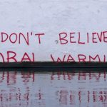 "Adapted from ""I don't believe in Global Warming"": Climate change denial by #Banksy by Duncan Hull on Flickr,"