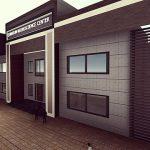 Hospital design front facade