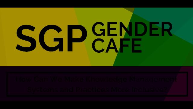 Knowledge Equality >> Free Webinar On Gender Equality In Knowledge Management 14 November