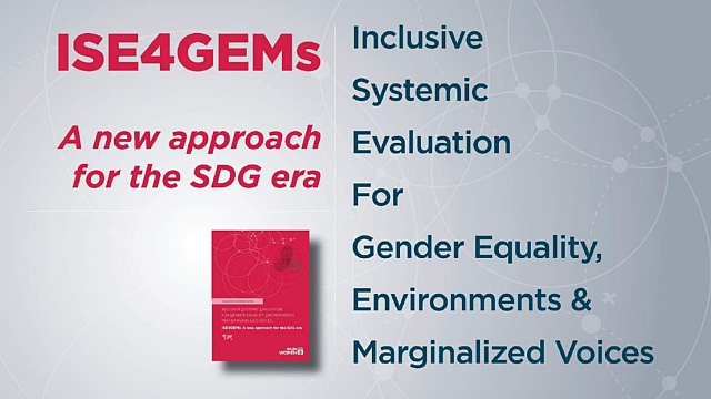 Inclusive Systemic Evaluation for Gender Equality, Environments and Marginalized voices (ISE4GEMs)