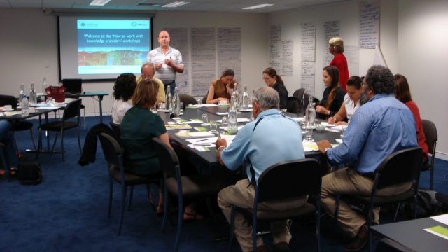 """""""How to work with knowledge providers?"""" workshop"""