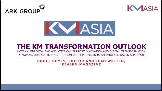 KM Transformation Outlook