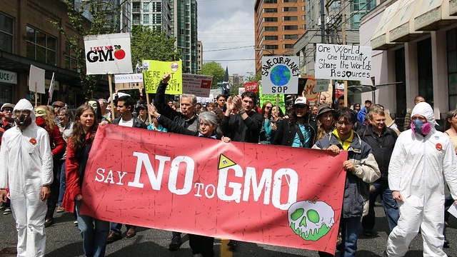 Say No To GMO March Against Monsanto
