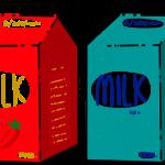 Paper milk cartons
