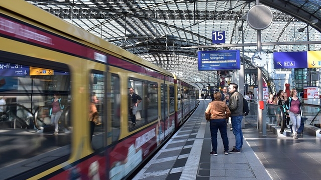 Berlin Station Train Station Germany