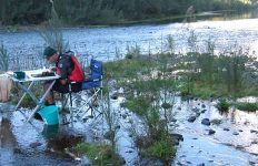 Shoalhaven River macroinvertebrate sampling