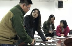 Experiential learning activity for PhD students at Shanxi University, China