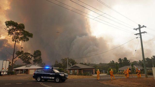 Yanderra bushfire
