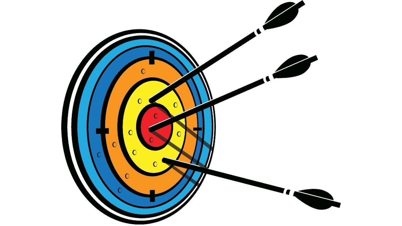 Arrows in the target