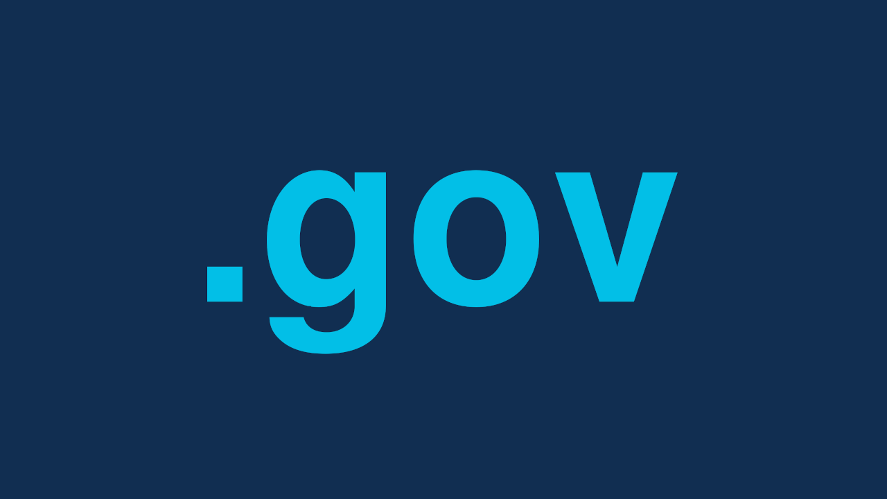 .gov top level domain