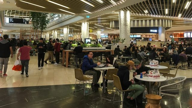 Chadstone Shopping Centre Extension Food Court 2017