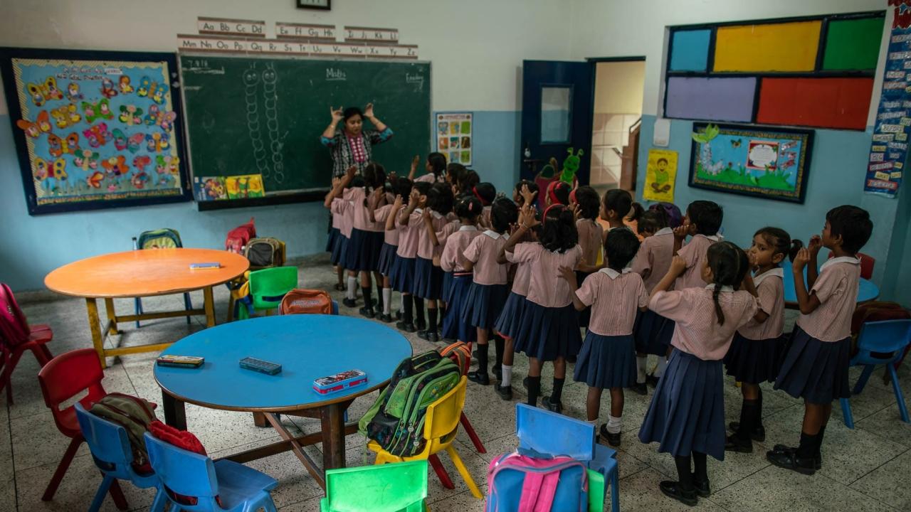 Prerna Girls School in Lucknow, India