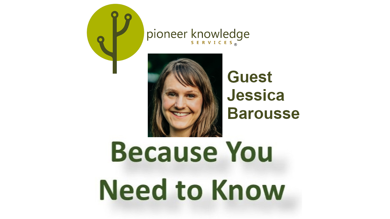 Because You Need to Know - Jessica Barousse