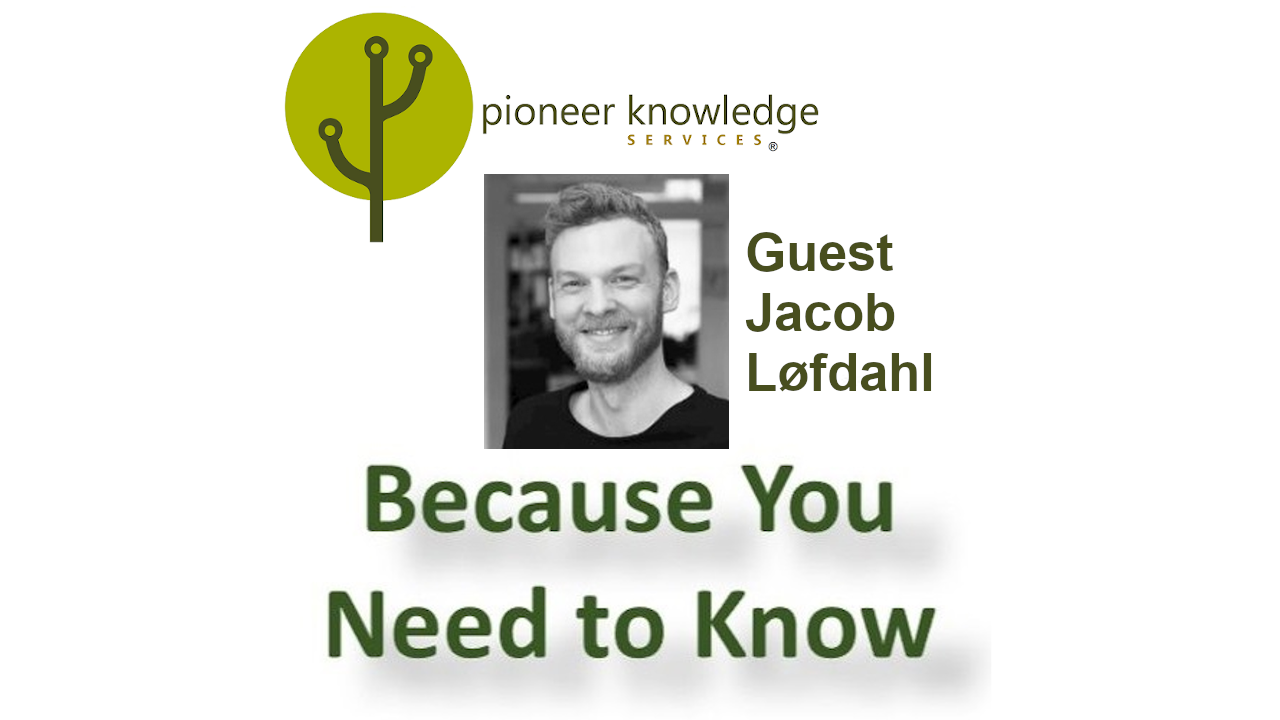 Because You Need to Know - Jacob Løfdahl