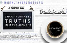KM4Dev Knowledge Cafe: Uncomfortable Truths In Development