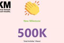 500K Milestone