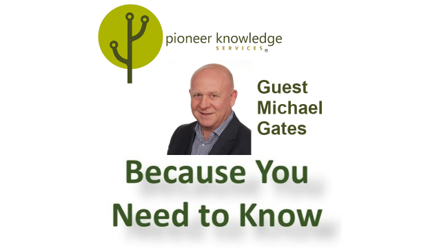 Because You Need to Know - Michael Gates