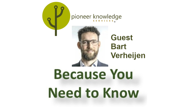 Because You Need to Know - Bart Verheijen