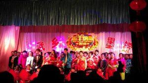 Village Lantern Festival gala, Shanxi, China