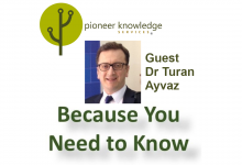 Because You Need to Know – Dr Turan Ayvaz