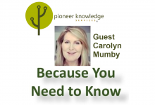 Because You Need to Know – Carolyn Mumby
