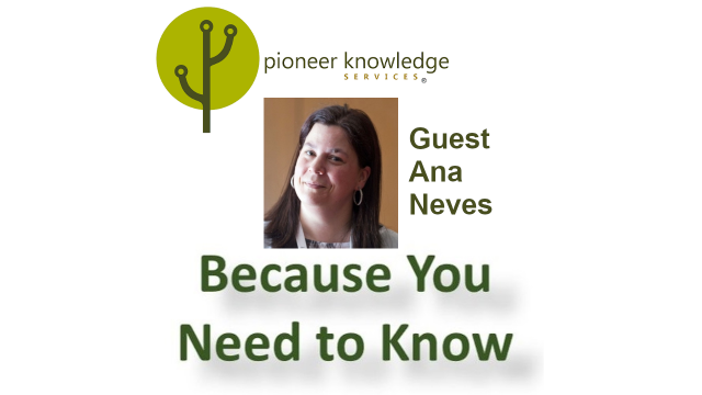 Because You Need to Know - Ana Neves