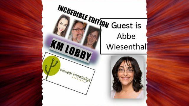 KM Lobby PKS - Incredible Edition -Abbe Wiesenthal
