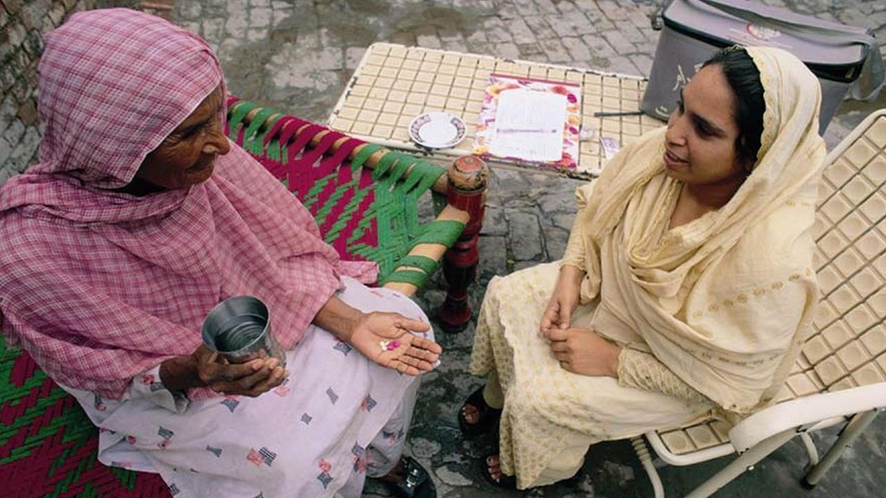 Pakistan Lady Health Worker Program